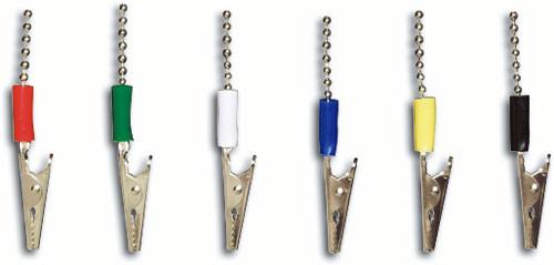 Bibs Chain Metal Blue 1 Pcs.