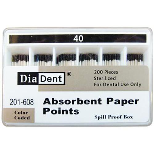 Paper Points - ISO Sizes, 40 200/Pkg