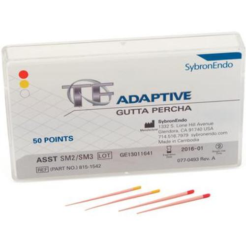 TF Adaptive Gutta Percha Assorted SM2/SM3 50/Pk
