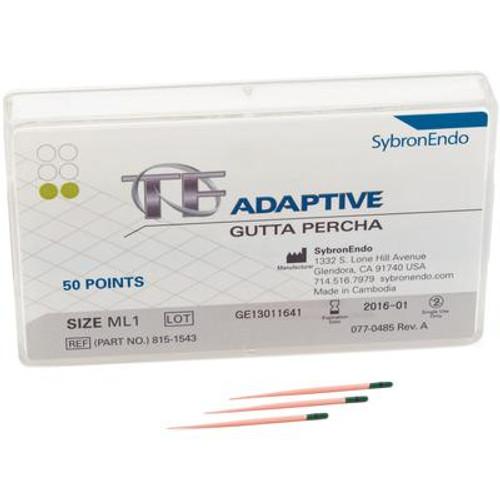TF Adaptive Gutta Percha ML1 50/Pk, Green