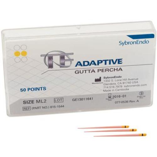 TF Adaptive Gutta Percha ML2 50/Pk, Yellow