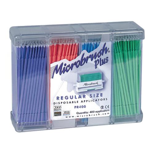 MicroBrush Plus Refill, Regular, Assorted Colors 400/Pk