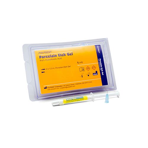 Porcelain Etch Gel Syringe Kit 4 x 1.2ml