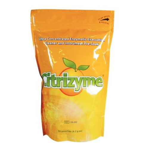 Citrizyme Concentrated Enzymatic Evacuation System Cleaner Unit Dose, 50/Pk