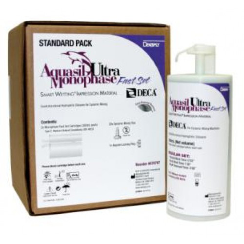 Aquasil Ultra Deca Cartridges Mono Fast Set