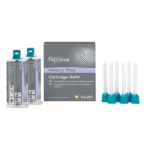 Flexitime VPS Impression Material,  Heavy Tray, 2 x 50 ml