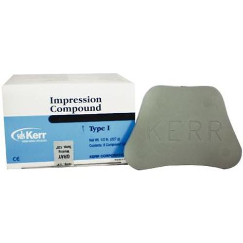 Impression Compound Cakes - 1/2 lb Gray, 8/Pkg