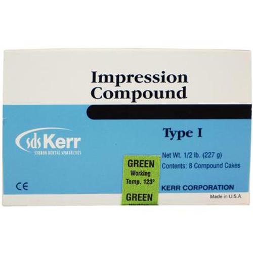 Impression Compound Cakes - 1/2 lb Green, 8/Pkg