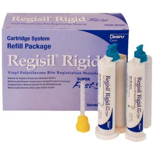 Regisil Rigid 4 x 50ml Cartridges +12 Mixing Tips