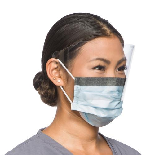 Surgical High Filtration Mask w/ Visor (25/Box)