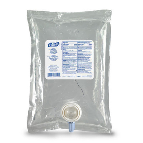 PURELL Hand Sanitizer Kit - 2 X 1000ml Bags & Recyclable Table Top Dispenser