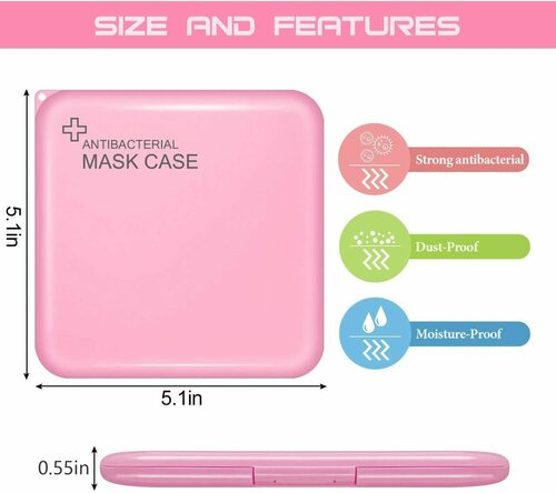 Antibacterial Storage Case for Masks