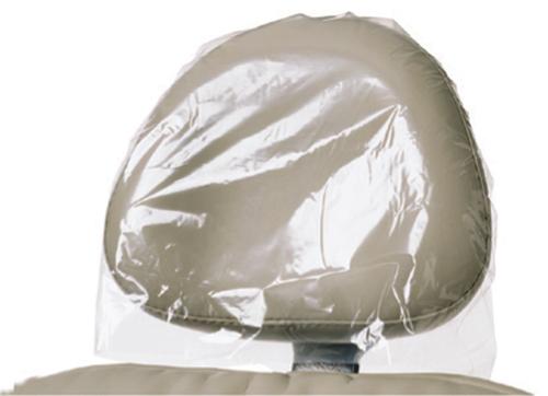 Headrest Covers Plastic 14x10