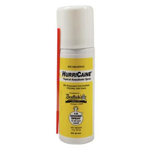 Topical Spray HURRICAINE