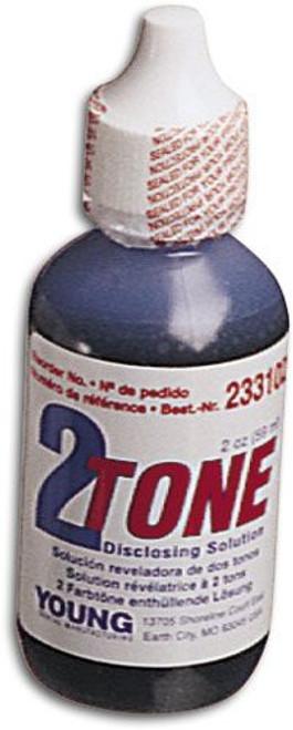 2-Tone Disclosing Solution 2oz Bottle