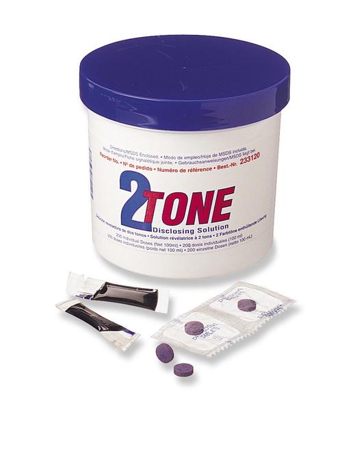 2-Tone Disclosing Tablet 250/Pk