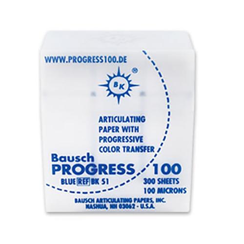 """Bausch Progress .004"""" (100 microns) BLUE Articulating 300/box"""