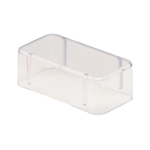 Bur Block Cover Large Clear For 14 Hole Ea