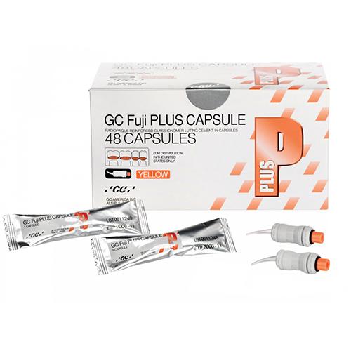 Fuji PLUS Luting Cement - Capsule Package, 48/Pkg