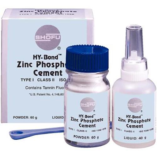 Hy-Bond Zinc Phosphate Kit - 60gm Powder + 25mL Liquid