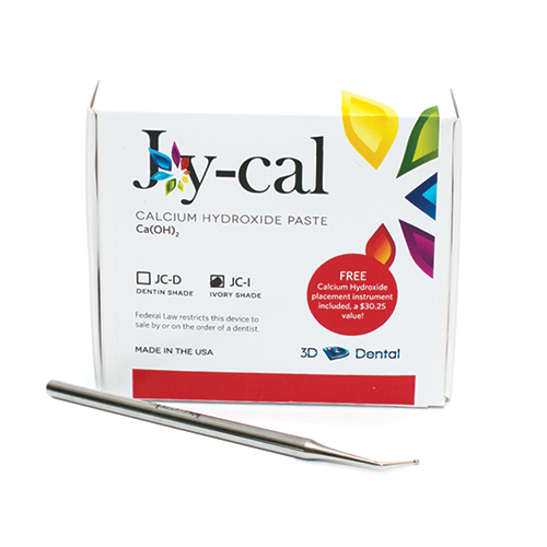 Joy-Cal Single Kit Calcium Hydroxide Cavity Liner (Dycal Replacement), Ivory