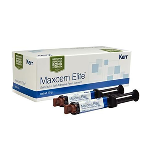 Maxcem Elite Cement Refill 2x5gm Syringe Clear