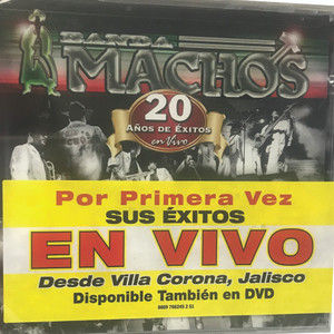 CD BANDA MACHOS - 20 A-OS DE EXITOS
