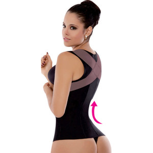 Faja Reductora Colombiana Chaleco Powernet Ann Michell 5055