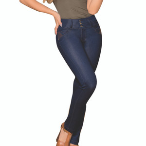 Pantalon Colombiano Levanta Cola Julissa - Butt Lifting Jean Stretch
