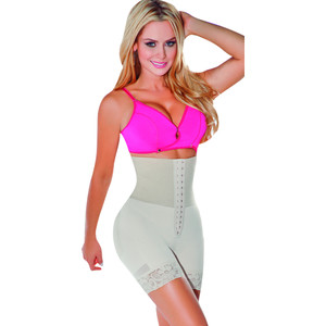 Faja Reductora Colombiana - Butt Booster Short with Waist Cincher 055