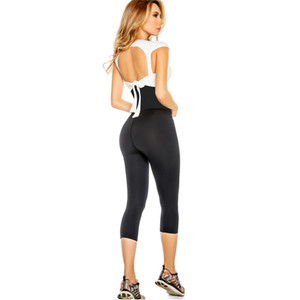 Womens Active Sauna Pants Leggings Colombian with Waist Cincher - California