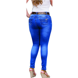 Butt Enhancing Push UP Jean Plus Nina
