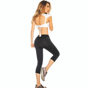 Aranza Womens Active Sauna Pants Leggings Colombian Slimming Capri Galaway