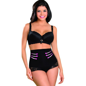 Faja Reductora Colombiana- Aranza Women's Butt Lifting Brief High Waist Ab Shaper