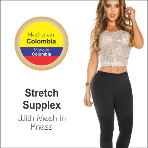 Womens Butt Lifting Leggings High Waisted Thigh Slimmers Tummy Control with body shaper Inside  Push UP Colombian Leggings Recife