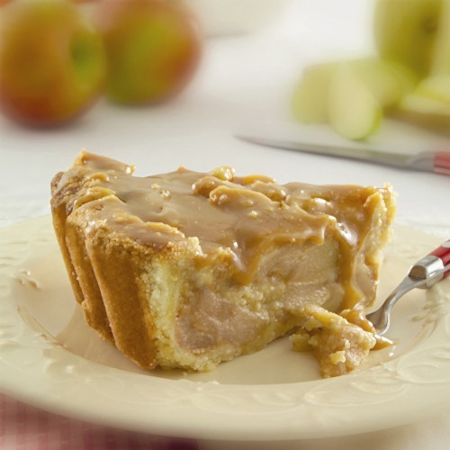 Caramel Apple Granny Pie