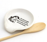 Retro Mom Cooking Spoon Rest