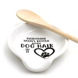 Dog Hair Spoon Rest