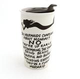 Mature Mermaid Travel Mug