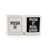 Push It Real Good Salt & Pepper Shaker Set
