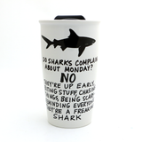 G-Rated Shark Eco Travel Mug