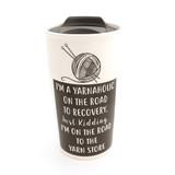 Yarnaholic Travel Eco Mug