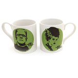 Mr. and Mrs. Frankenstein - Made for Each Other Mug Set