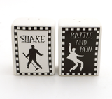 Shake Rattle and Roll Salt and Pepper Set