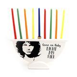 Menorah Jim Morrison from The Doors Light My Fire