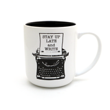 Stay Up Late Writers Mug