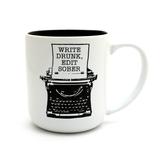 Write Drunk Edit Sober Writers Mug