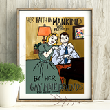 Faith in Mankind Print