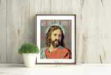 Who Loves Ya Baby Jesus Print