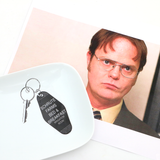 Schrute Farms Key Plate - The Office